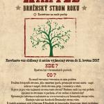 Brněnský strom roku 2017 - nominační plakát